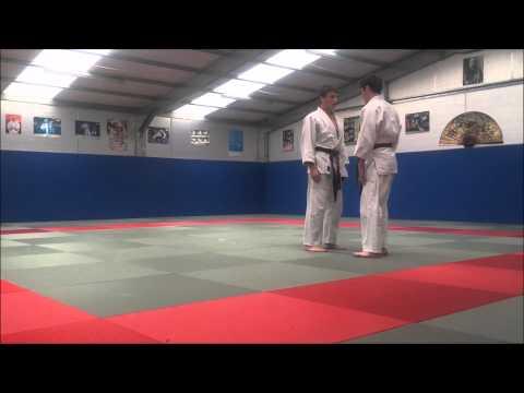 All-Ireland Judo Kata Championship 2015 Go-no-Sen-no-Kata Bronze