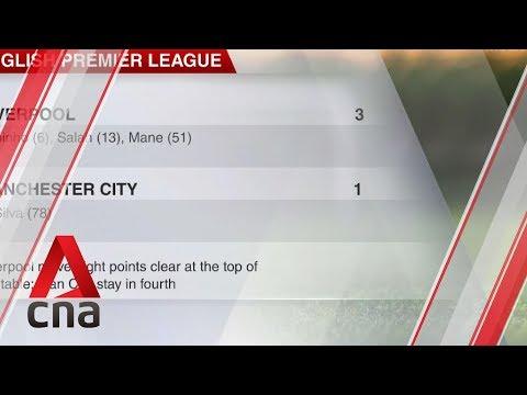 Football: Liverpool beat Manchester City 3-1