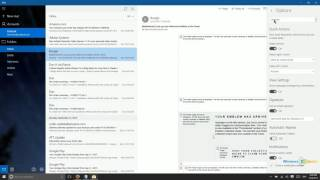 Working With Mail, People, and Calendar in Windows 10