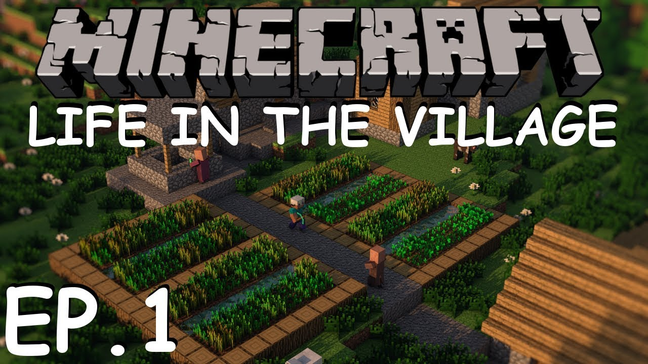Minecraft | Life in the Village Ep  1 - Starter Home (Modpack)