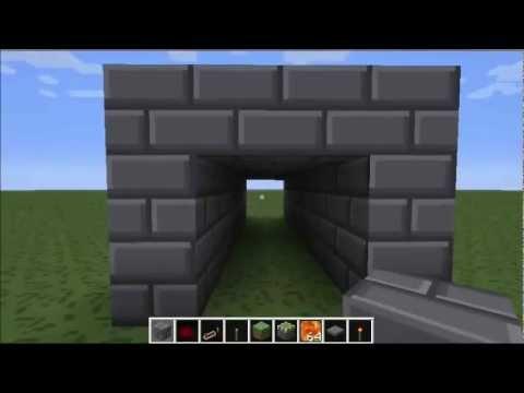minecraft versteckte t r mit falle youtube. Black Bedroom Furniture Sets. Home Design Ideas