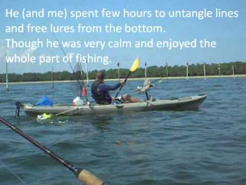 Kayak fishing point lookout md aug 27 2010 youtube for Point lookout fishing