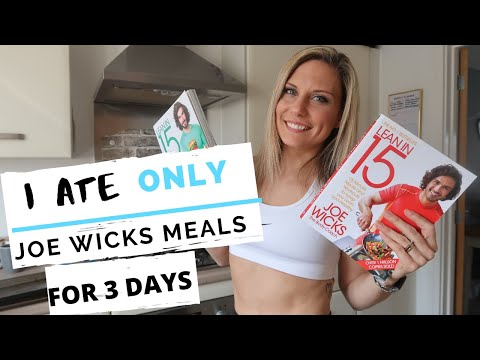 JOE WICKS THE BODYCOACH MEALS      FOR 3 DAYS  LEAN IN 15  REDUCE BLOATING