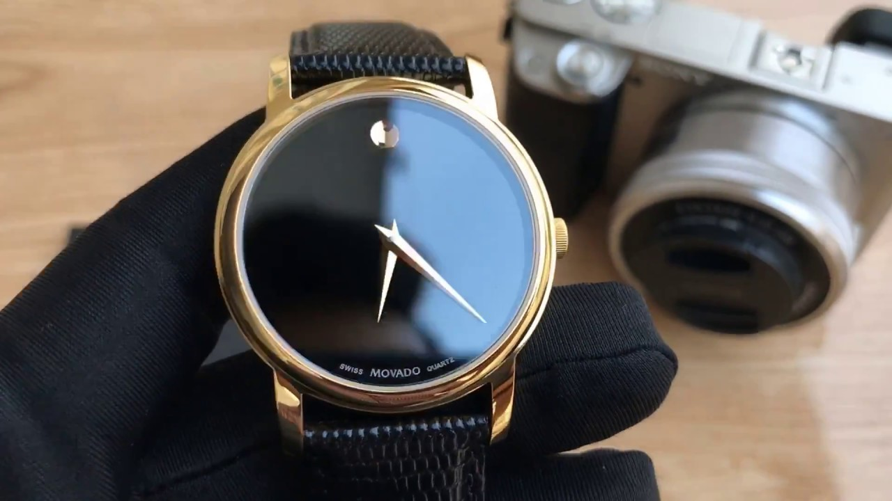 85cdc7850d41b Xship.vn  Movado Men s 2100005 Museum Gold Classic Leather Watch ...