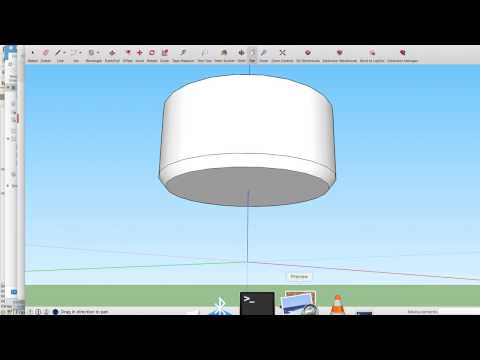 sketchup follow me feature - part 2 - DIY woodworking India