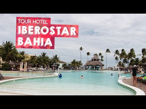 Tour pelo Hotel Iberostar Bahia