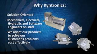 Kyntronics Custom Actuator Systems for OEMs