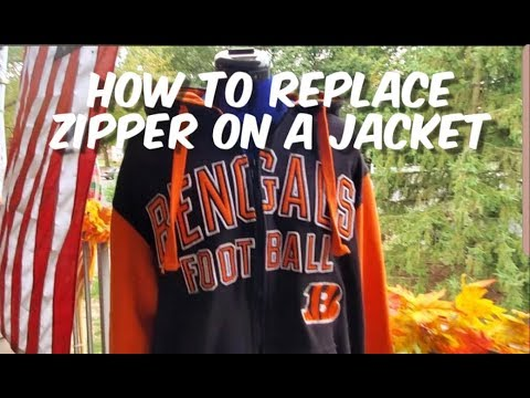 How To Replace Zipper On A Jacket