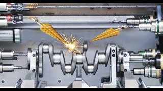 Germany CNC Technology - Complete a Crankshaft for Volkswagen Super Car Engine