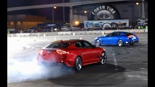 KIA Stinger GT Drift Demo at SEMA Ignited (part 1)