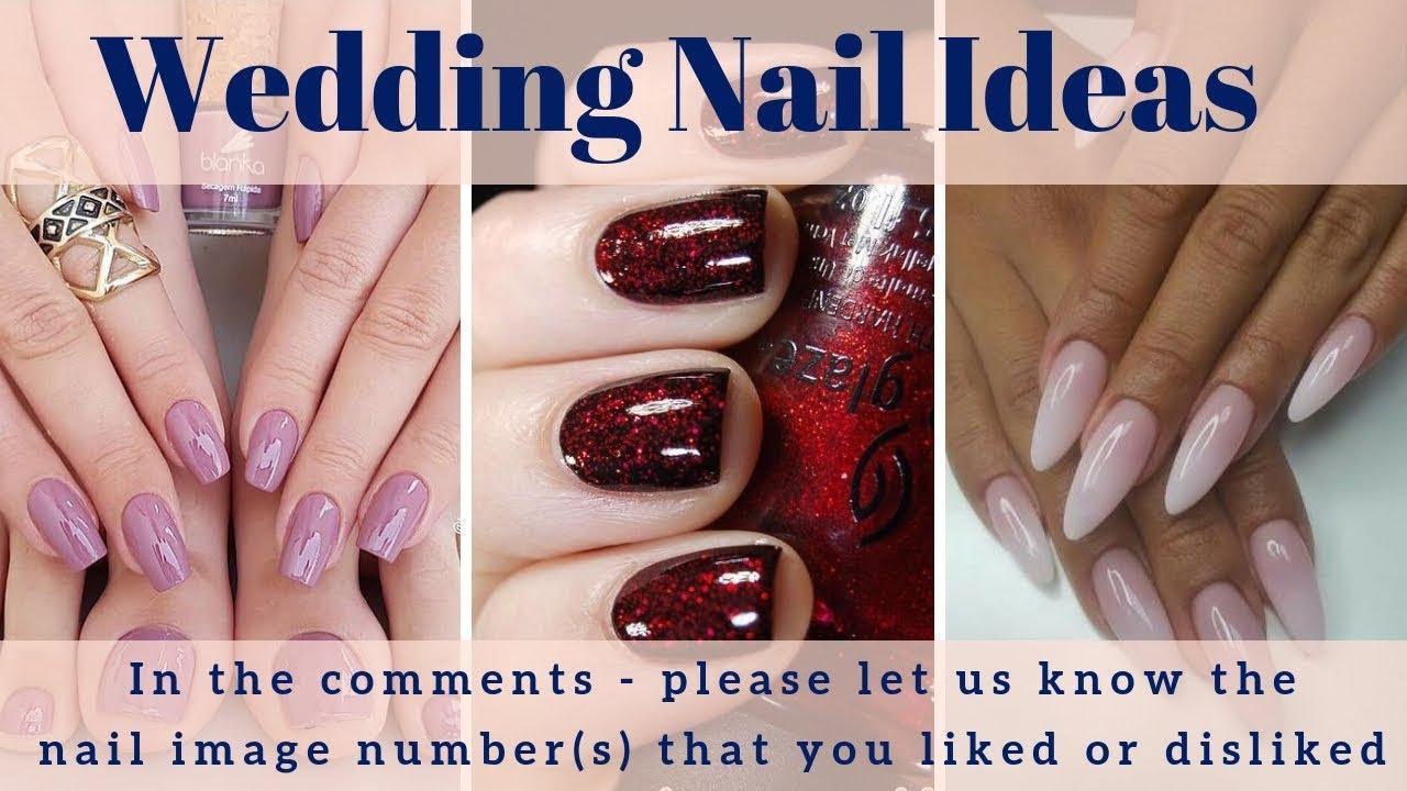 Wedding Nail Designs 200 Wedding Nail Art Ideas Wedding Nail