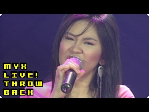 SARAH GERONIMO  How Could You Say You Love Me MYX ! Performance