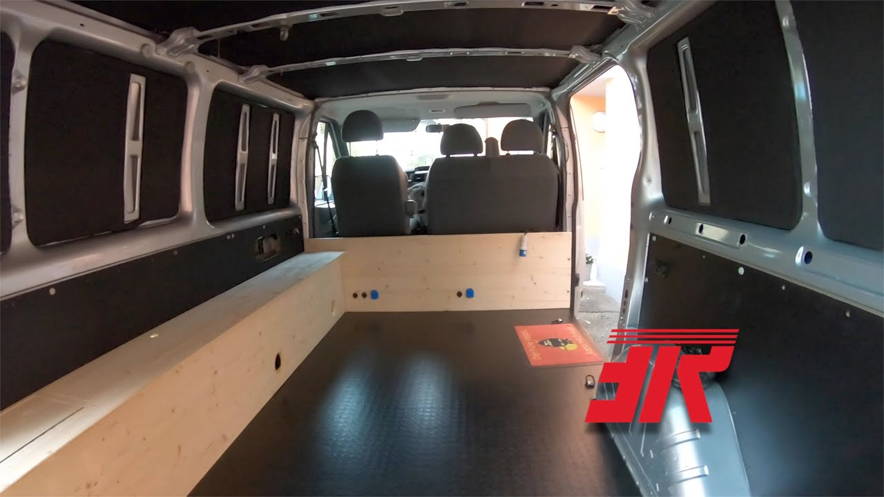 ford transit camper ausbau part 1 2019 youtube. Black Bedroom Furniture Sets. Home Design Ideas