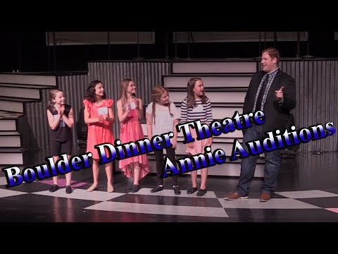 Annie Audition Opening