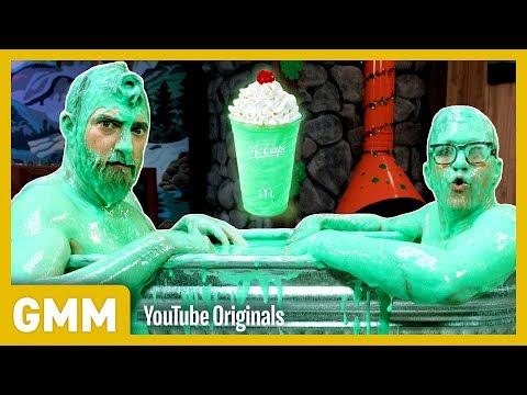 Download Youtube: Taking A Bath In Shamrock Shakes