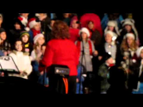 Holiday songs by the Rockwell & Guiteras School Chorus in Bristol RI