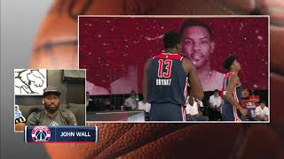 John Wall Best Moments on NBCSW Broadcast - 8/7/20