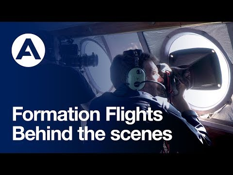 Formation Flights - Behind the scenes