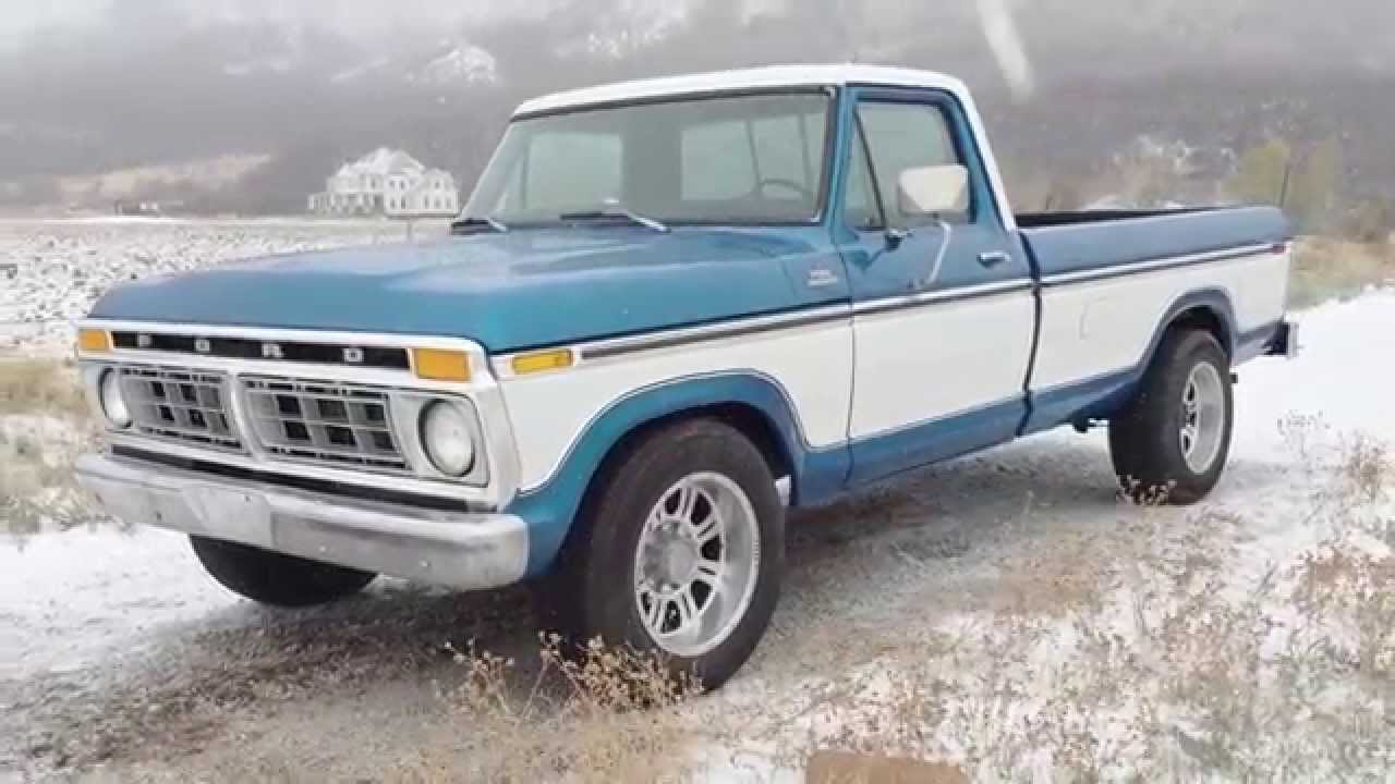1977 ford f 250 ranger xlt frame up restoration original 460 v8 gorgeous paint interior youtube