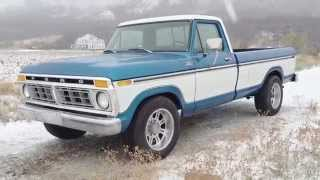 1977 Ford F-250 Ranger XLT Frame Up Restoration Original 460 V8, Gorgeous Paint & Interior