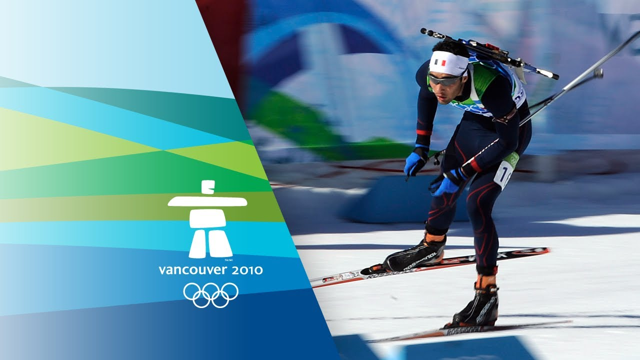 Fourcade - Men's Biathlon - 15KM Mass Start - Vancouver 2010 Winter Olympic Games