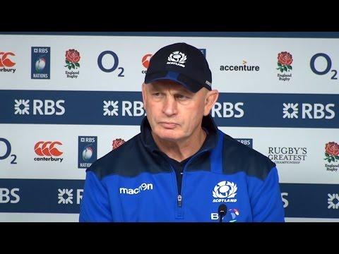 England 61-21 Scotland - Vern Cotter & John Barclay Full Post Match Press Conference - Six Nations
