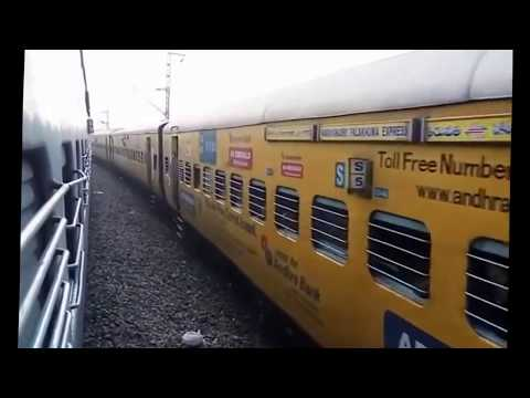 TIRUPATI to VIJAYAWADA FULL JOURNEY