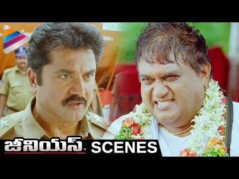 Sarathkumar Powerful Warning to Jayaprakash Reddy   Genius Telugu Movie Scenes   Shweta Basu Prasad