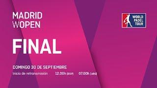 Final - Madrid WOpen 2018 - World Padel Tour