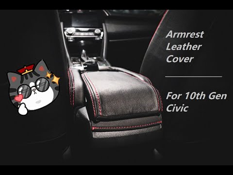 Armrest Leather Cover For 10th Gen Civic | 十代思域扶手箱皮套
