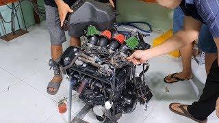 Kawasaki Z1000 Engine for My DIY Project