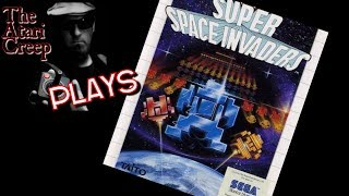 Super Space Invaders Sega Master System | The Atari Creep plays