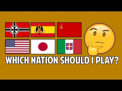 Conquest 1943 - Which Nation Should You Play? [WC4-GUIDE]