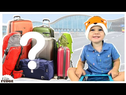 ULTIMATE Roadtrip & Carry On Bag ✈ ACTIVITIES for KIDS!