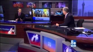 LVBNM 400 jobs for 400 vets news announcement KLAS TV