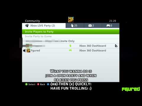 how to join xbox live party on pc