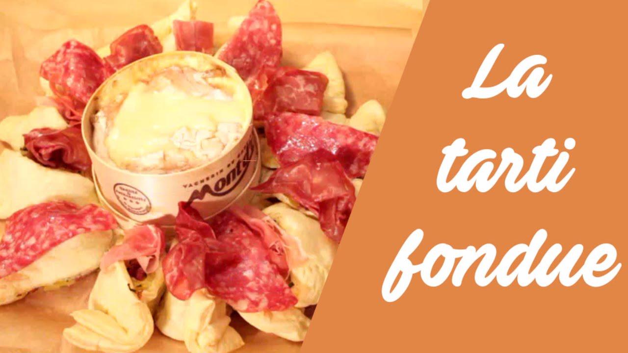 La recette de la tarti fondue au mont d 39 or youtube - Recette fromage mont d or ...