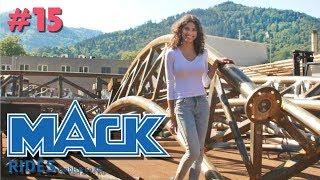 Mack Rides Factory Tour - New Eurosat CanCan Coaster! | #15 Jessica's Vlog