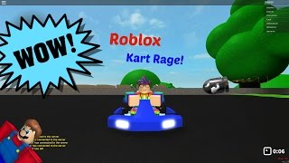 Roblox Mario Kart??   Roblox   Kart Rage Beta