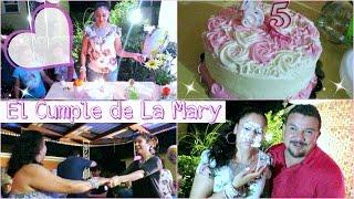 Festejando el Cumpleaños de la Mary !! - Agosto 27, 2016 ♡IsabelVlogs