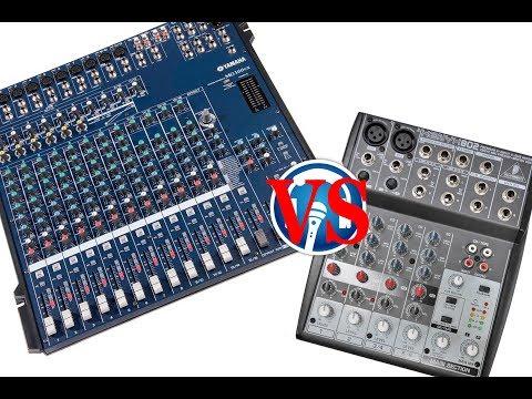 Какой пульт лучше - Behringer или Yamaha? (вопрос)