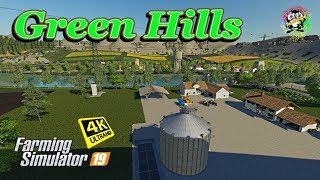"[""Green Hills Map"", ""tazzienate"", ""4k"", ""4k video"", ""4k resolution"", ""4k resolution video"", ""fs19"", ""fs-19"", ""fs19 mods"", ""fs19 maps"", ""farming simulator"", ""farming simulator 19"", ""farming simulator 2019"", ""farming simulator 19 mods"", ""farming simulator 1"