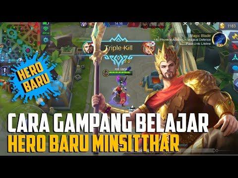 TUTORIAL Cara AMPUH Menggunakan MINSITTHAR - Hero Baru mobile legends