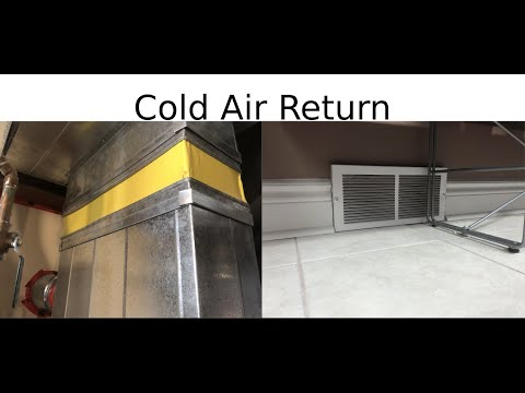 Installing A Cold Air Return In, Does A Basement Bedroom Need Cold Air Return