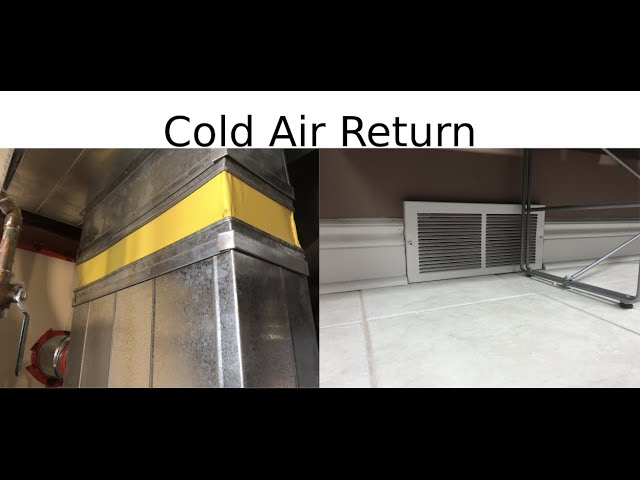 Installing A Cold Air Return In, Does A Finished Basement Need Cold Air Return