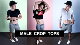 Male Crop Tops Are In Fashion - Men