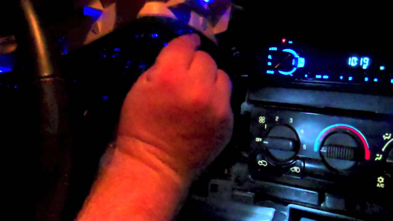 How to change the color in your dash for a 99-03 silverado ...