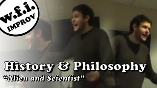 Purchase Improv Meeting: History/Philosophy (Alien & Scientist)
