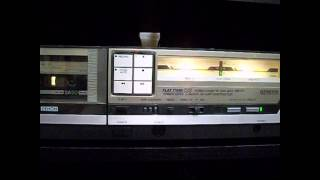 Denon DR-F7 Tape Deck Kool and the Gang Open Sesame
