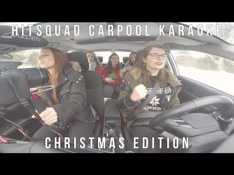 Hitsquad Carpool Karaoke- CHRISTMAS EDITION